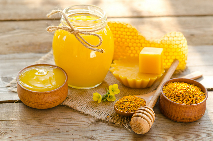 produkty pszczelarskie