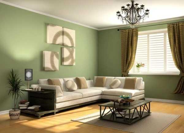 Tapeta pistacjowa w pokoju