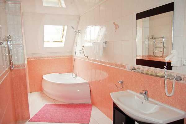 Kolory ścian w łazience
