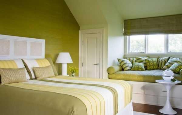 Zastosowanie oliwki do dekoracji sypialni