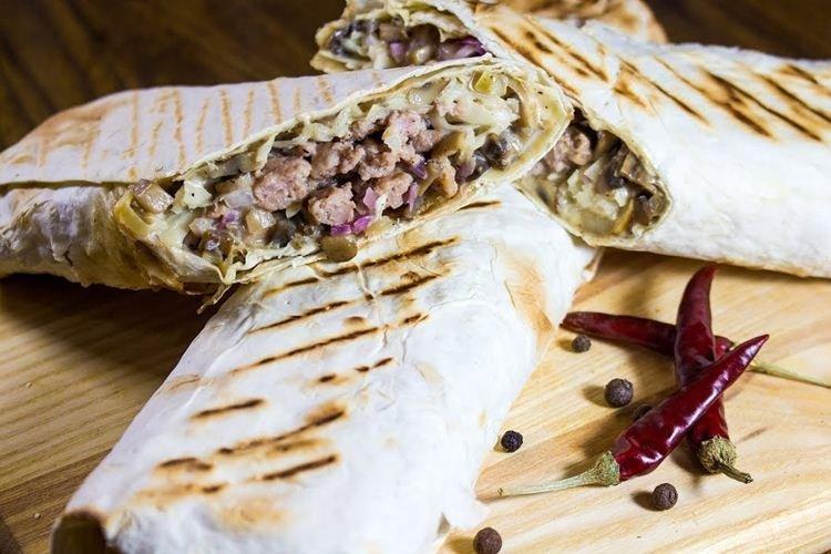 Shawarma z mieloną wołowiną - co gotować z mieloną wołowiną przepisy