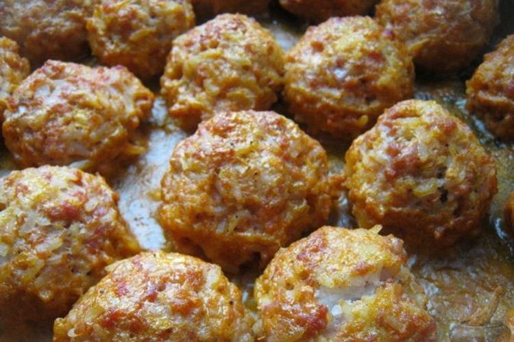 Klopsiki mielone wieprzowe z ryżem - Co ugotować z przepisów na mieloną wieprzowinę