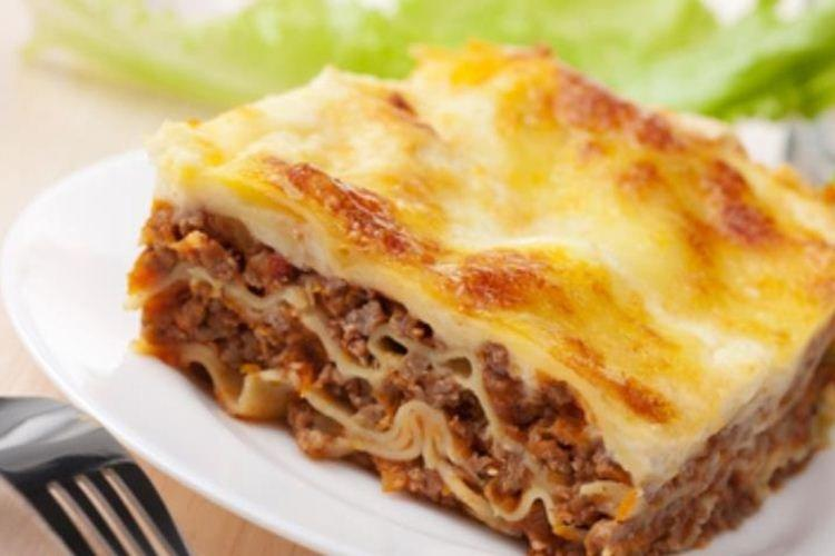 Lazy lavash lasagne - Co ugotować z przepisów z mielonej wieprzowiny