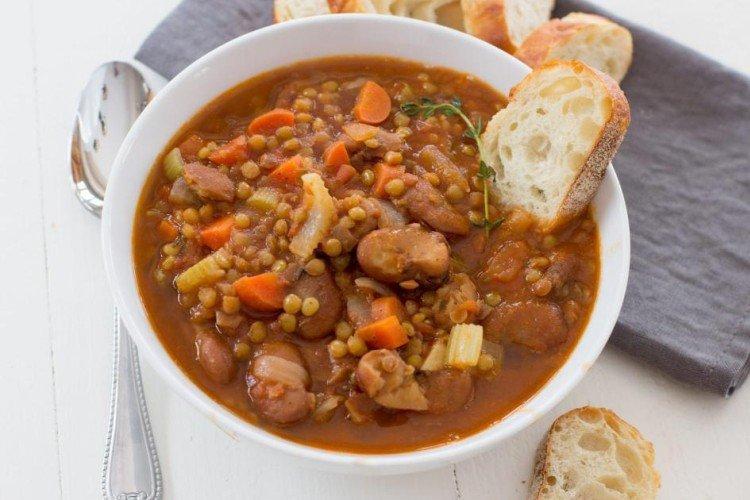 Zupa Fasolowa z Soczewicy