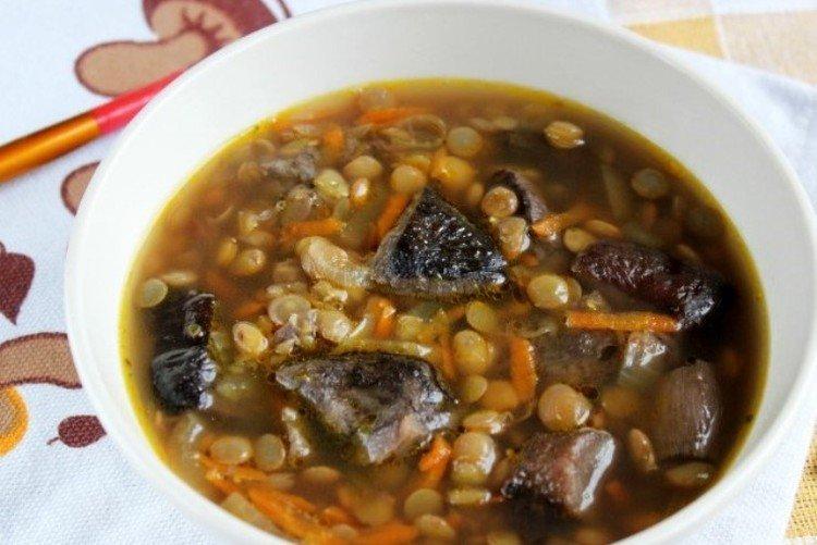 Zupa Grzybowa z Soczewicy