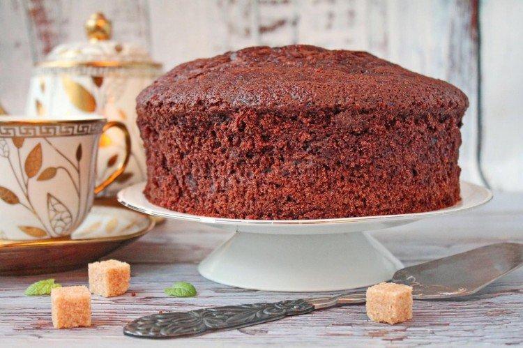 Biszkopt czekoladowy w powolnej kuchence