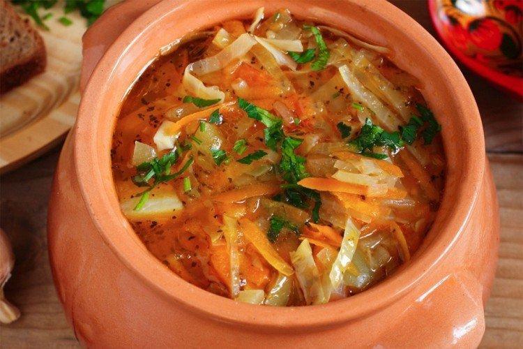 Zupa z kapusty kiszonej