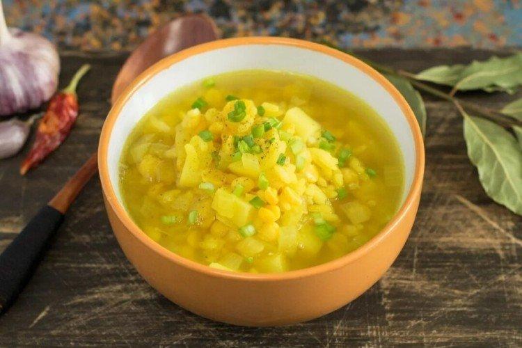 Zupa z chudego groszku