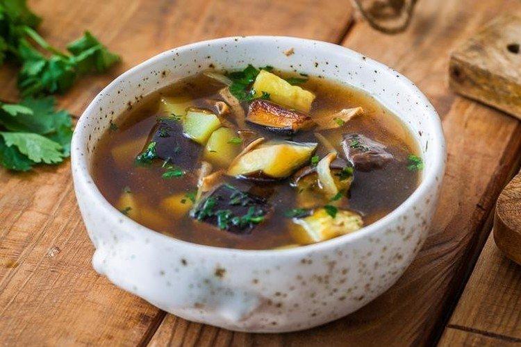 Zupa z bakłażana