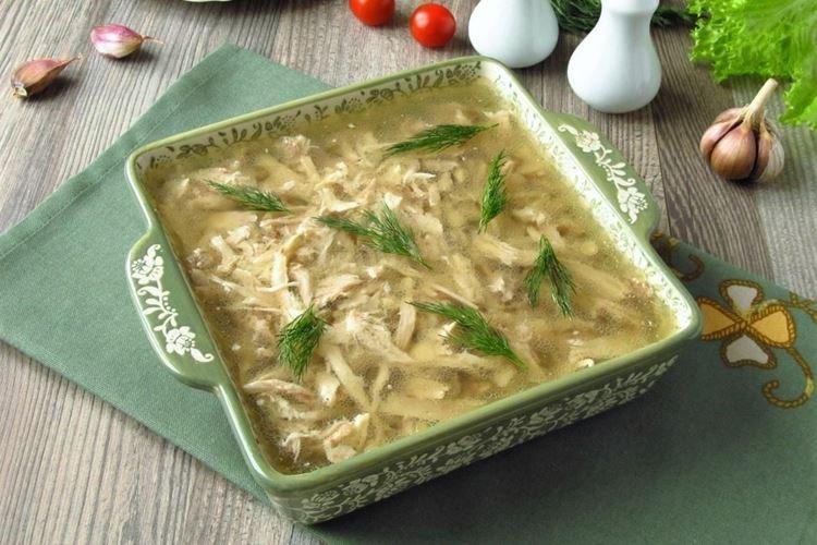 Galaretka z kurczaka - przepisy kulinarne