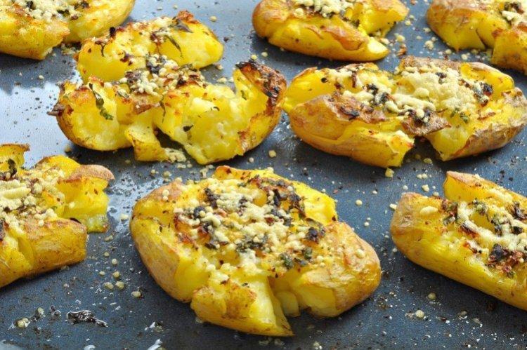 Chrupiące Kruszone Ziemniaki - Jak Gotować Ziemniaki na Nowy Rok Przepisy