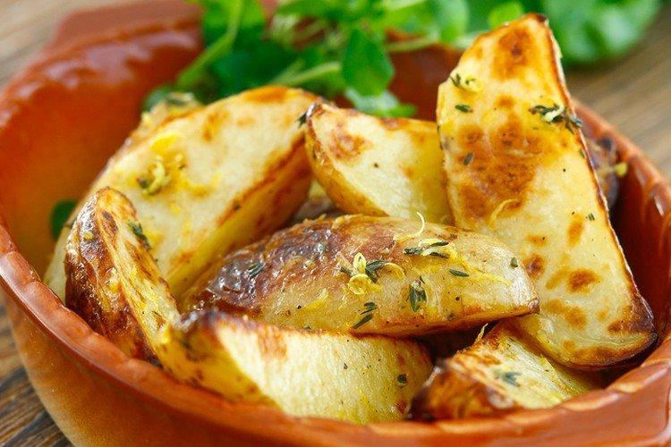 Ziemniaki z cytryną - Jak gotować ziemniaki na przepisy noworoczne