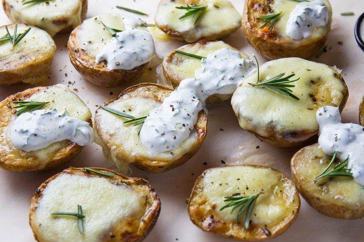 Ziemniaki z papryką i mozzarellą - Jak gotować ziemniaki na przepisy noworoczne