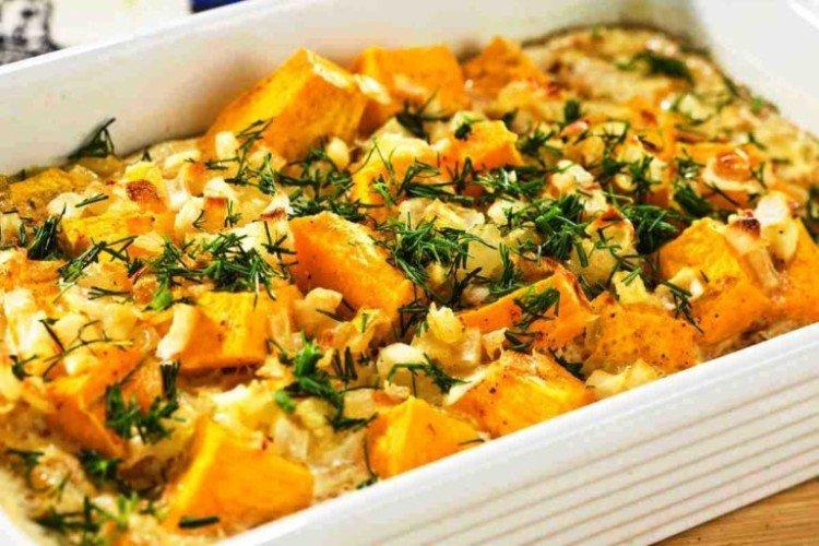 Ziemniaki z dynią i cebulą - Jak gotować ziemniaki na przepisy noworoczne