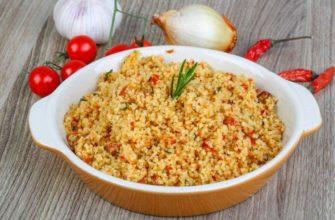 Bulgur z cytryną i przyprawami - Przepisy w kuchence mikrofalowej