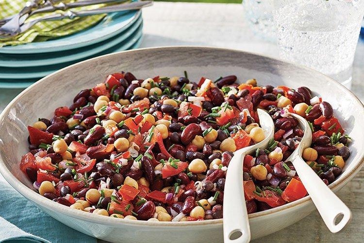 Sałatka z fasoli - przepisy kulinarne